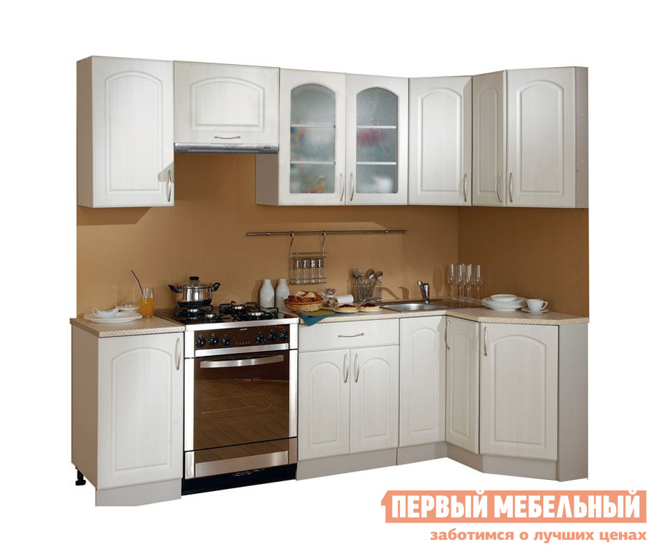 Кухонный гарнитур угловой Боровичи Классика угловой 1200х1785 кухонный гарнитур витра тиффани к2
