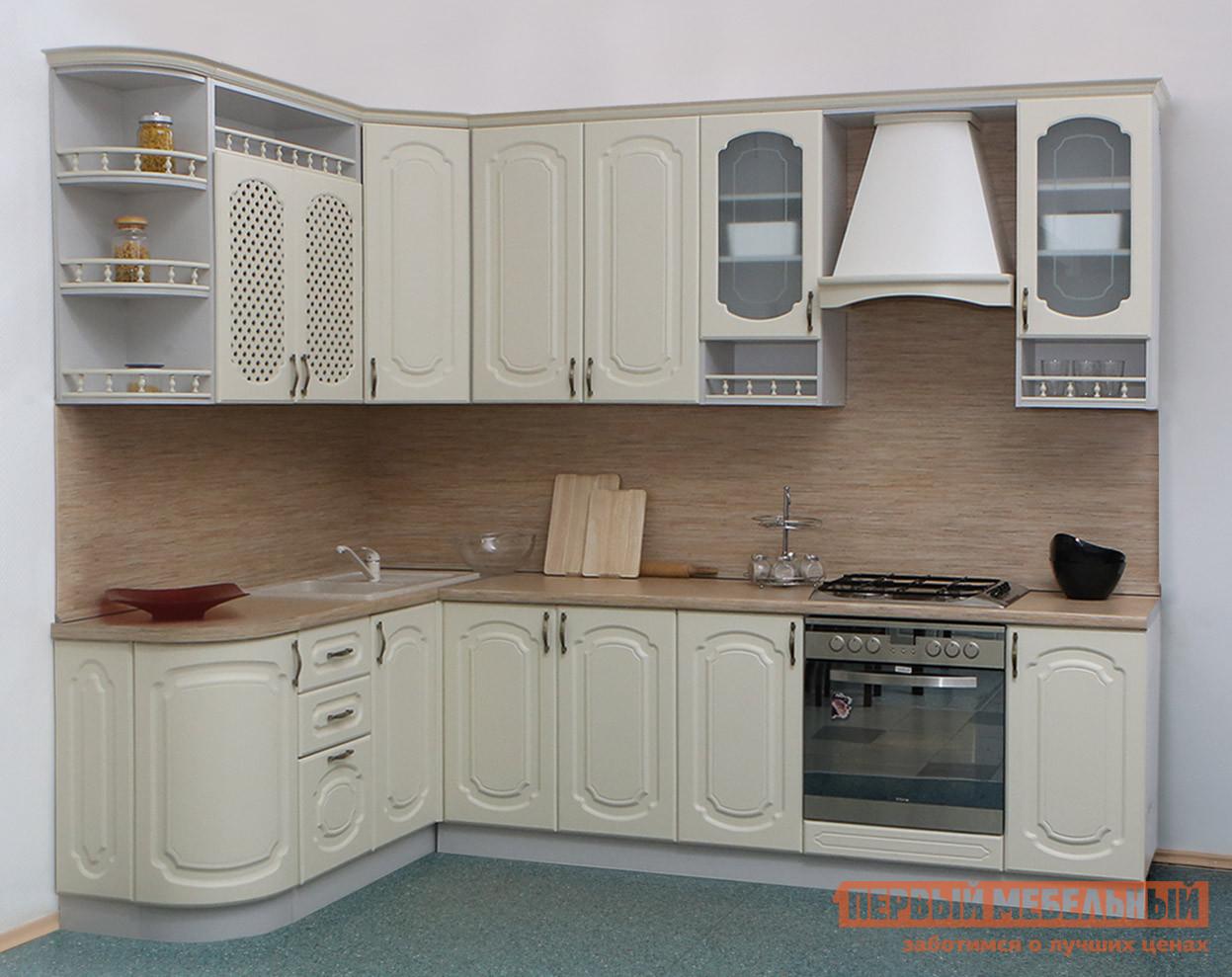 Кухонный гарнитур Боровичи Классика Прованс угловой 1735х2200 кухонный гарнитур трия фэнтези 120 см