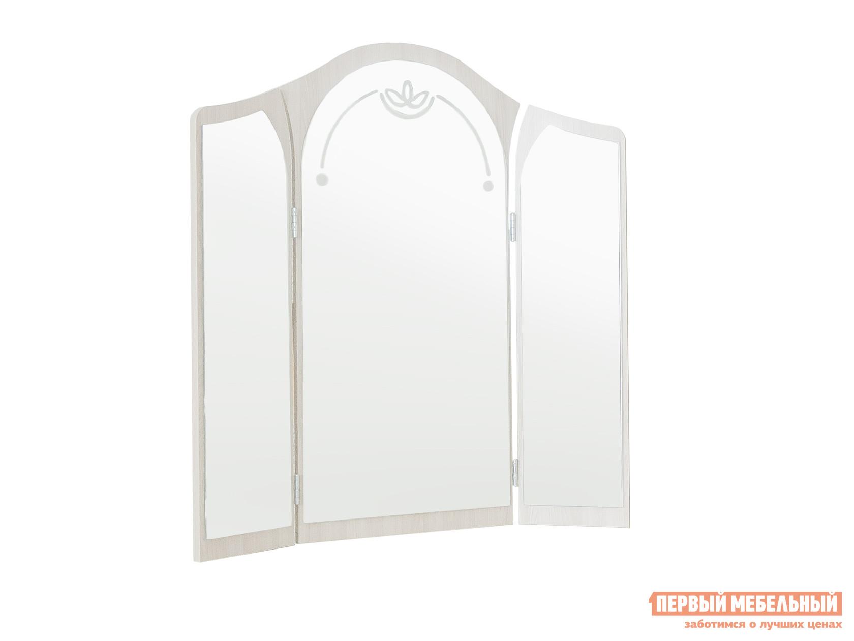 Настенное зеркало Боровичи Лотос 12.10 t 9917 brown