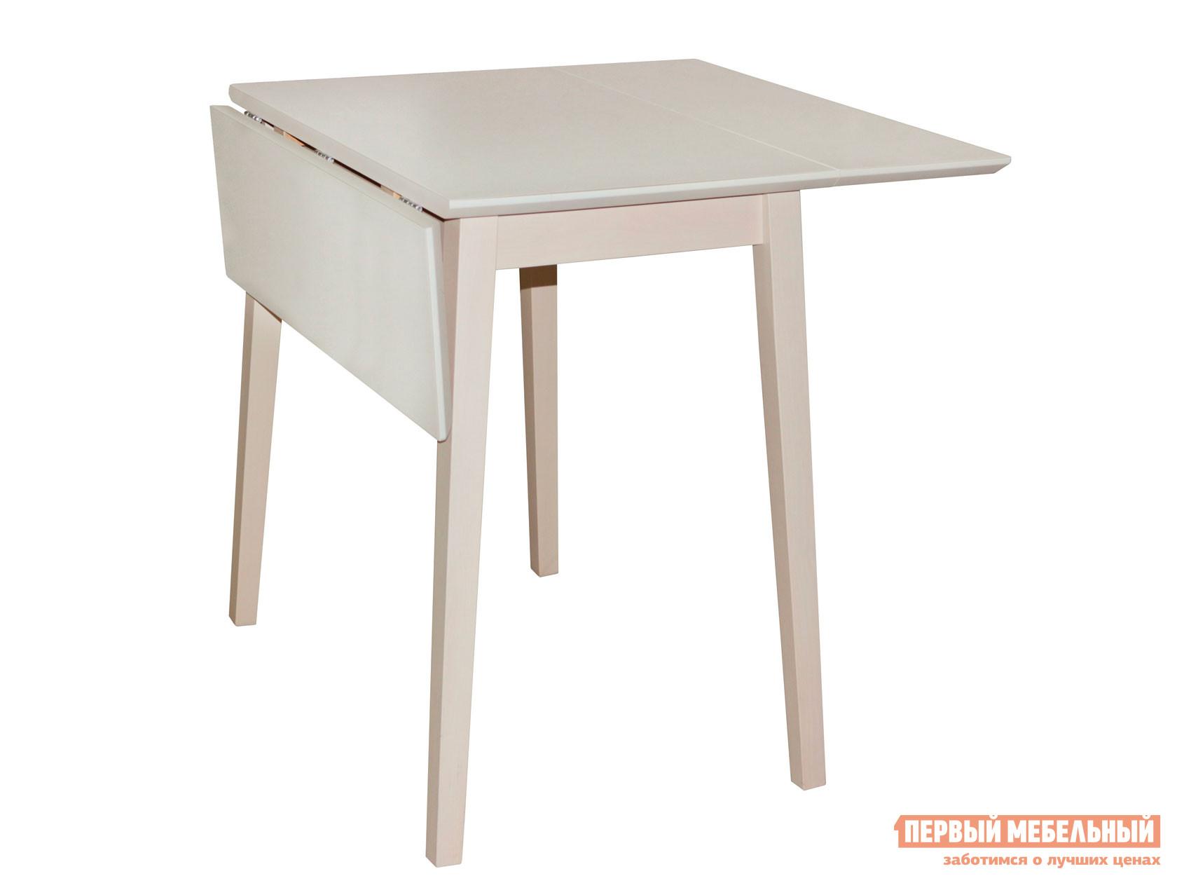 Кухонный стол  Стол раскладной Выбеленная береза — Стол раскладной Выбеленная береза
