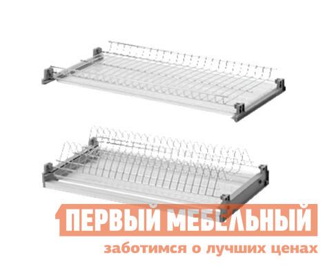 Сушилка для посуды Боровичи Посудосушитель с поддоном (хром) сушилка д посуды мечта хозяйки 3 48 5х30х9см с поддоном плас