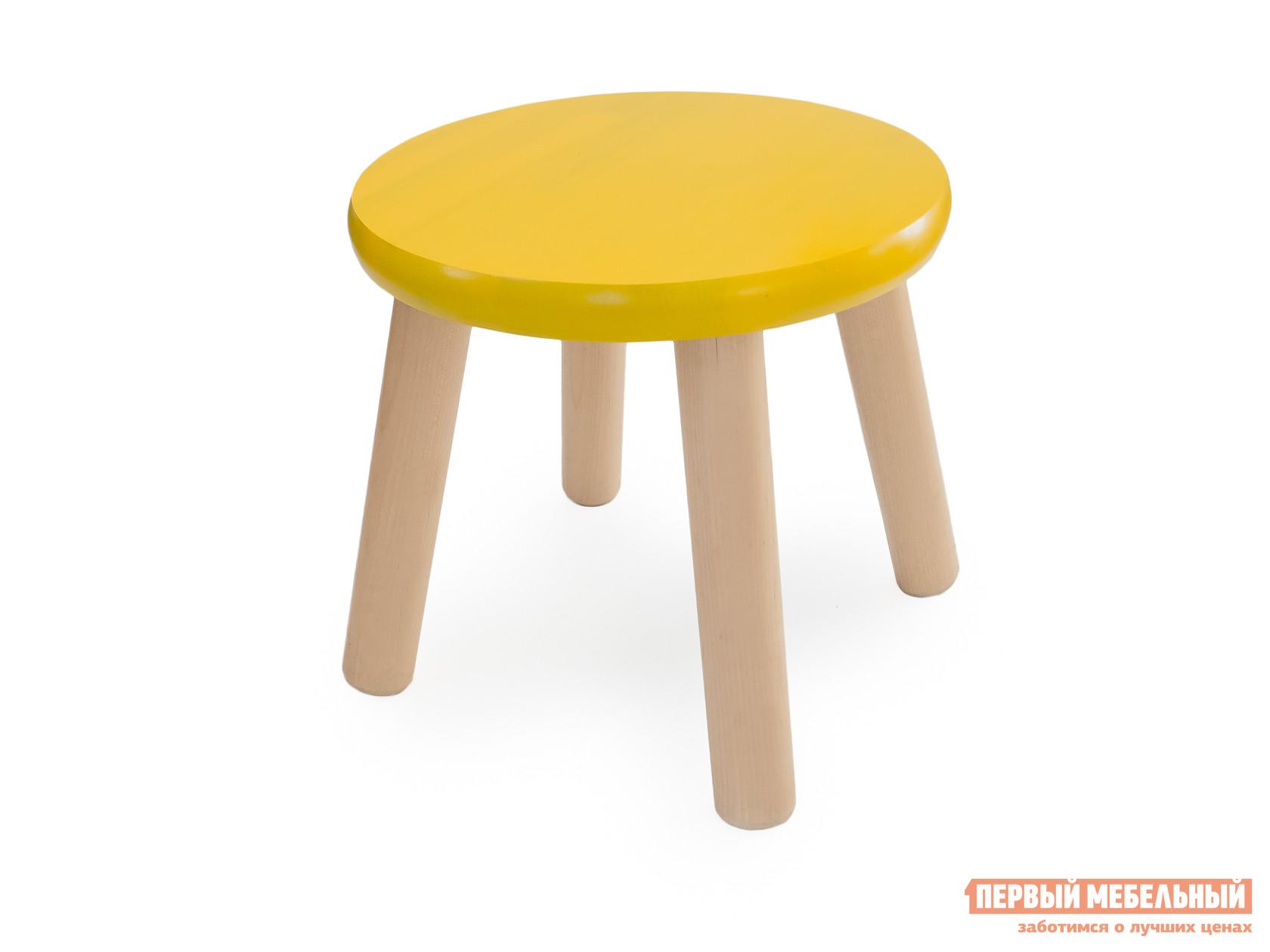 Столик и стульчик  Табурет детский Ольха / Желтый