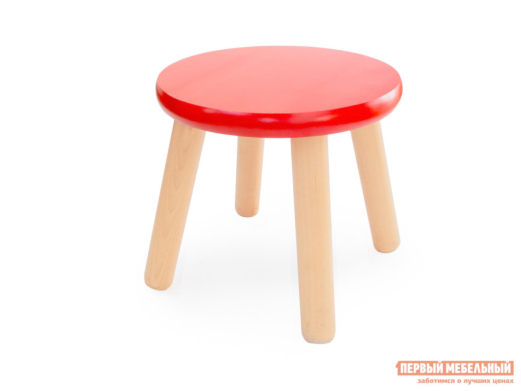 Столик и стульчик  Табурет детский Ольха / Красный