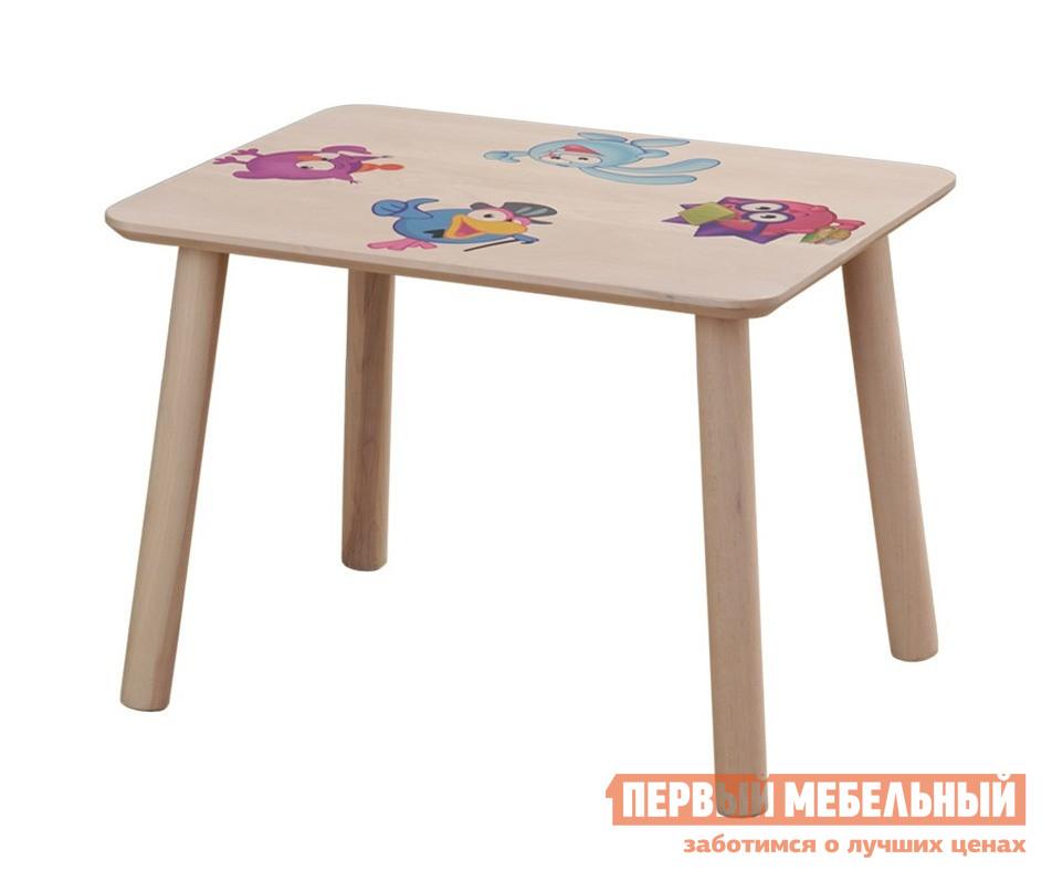 Столик и стульчик Боровичи Стол прямоугольный детский Выбеленная береза