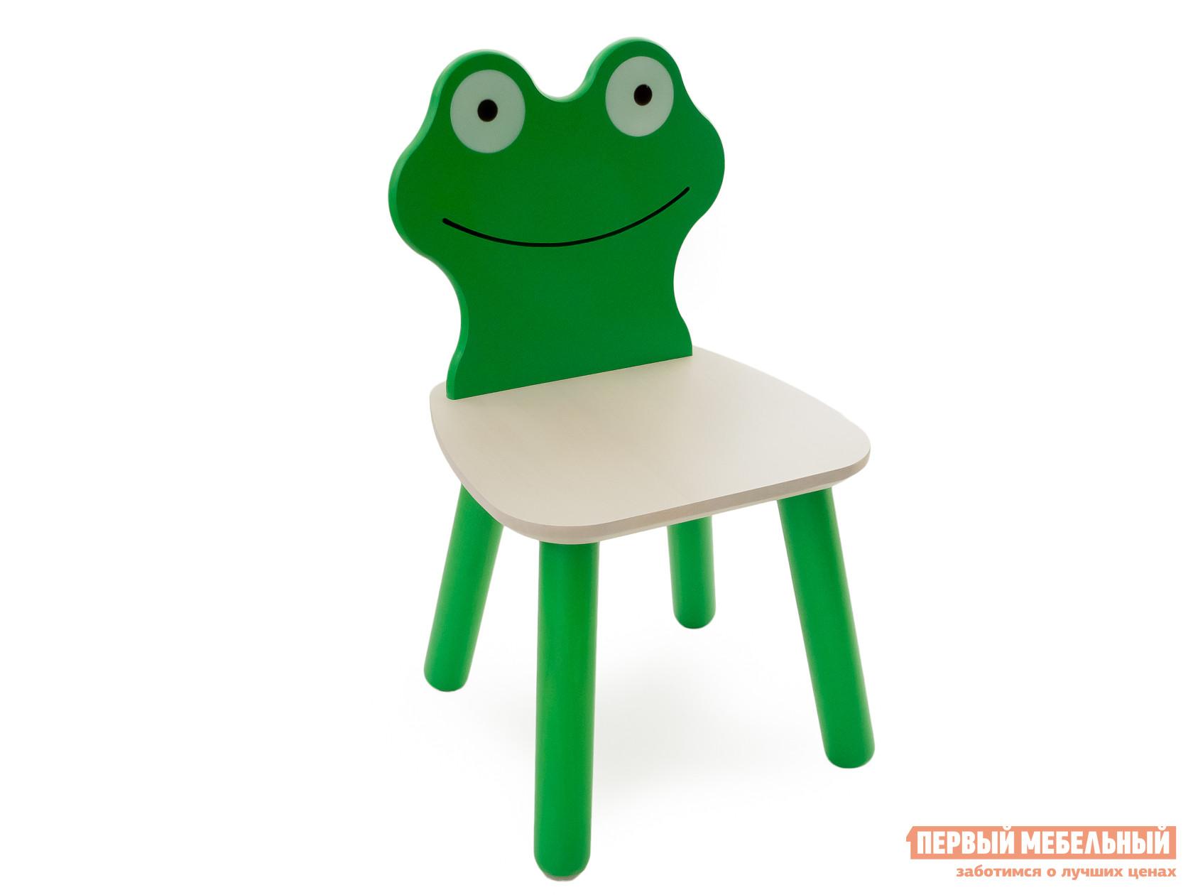 Столик и стульчик Боровичи Стул детский Лягушонок Выбеленная береза