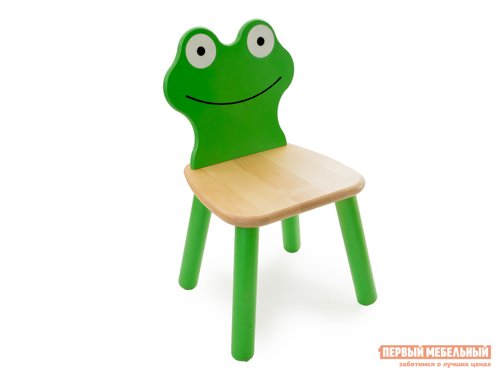 Столик и стульчик Стул детский Лягушонок Ольха фото
