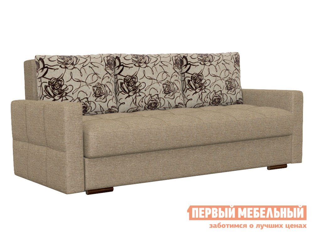 Прямой диван Боровичи Диван Лира Комфорт с боковинами (Боннель)