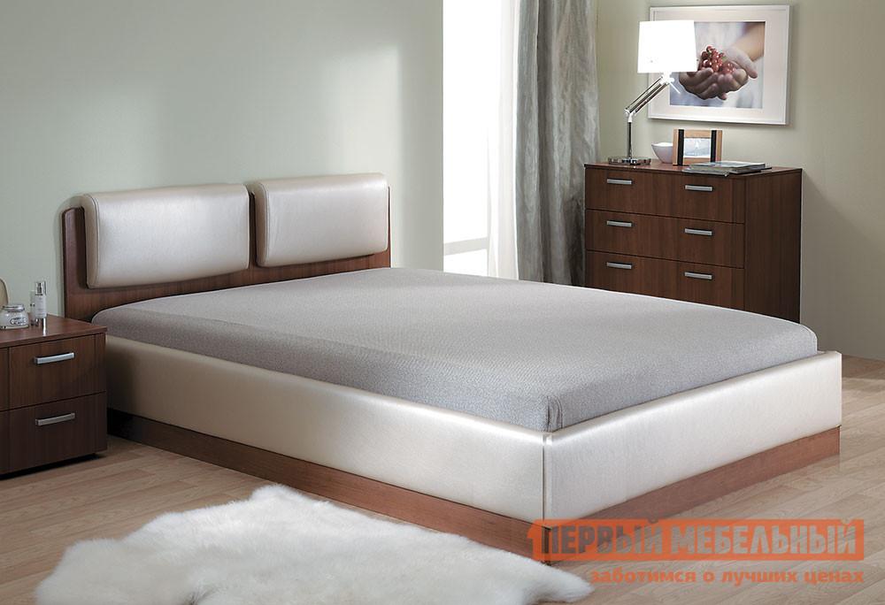 Двуспальная кровать-тахта с ящиками для белья Боровичи Тахта Мелисса Люкс двуспальная кровать боровичи кровать гнутая спинка мягкая