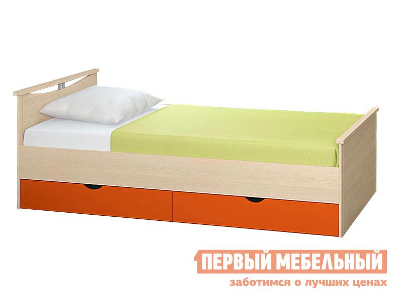 Детская кровать Боровичи Мелисса с выдвижными ящиками