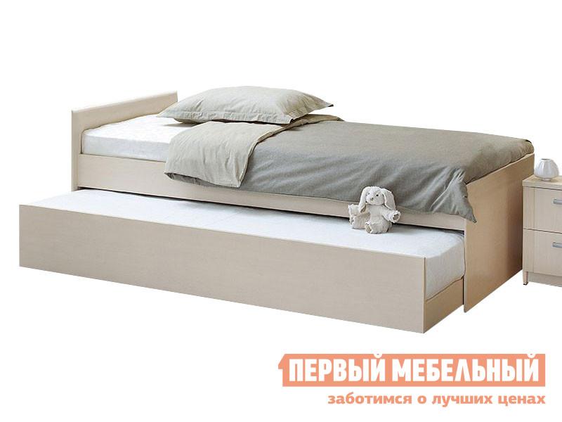 Детская кровать  выдвижная Дуэт Шимо светлый Боровичи 24359