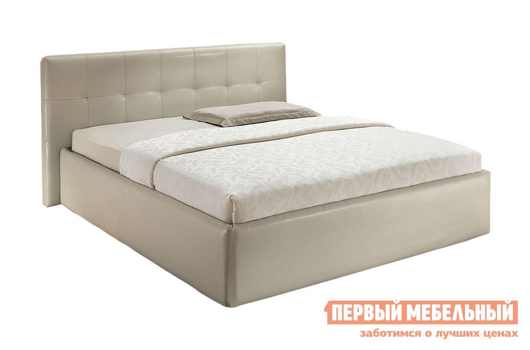 Двуспальная кровать Боровичи Тахта ЛЮКС Классика 1600, 1800 двуспальная кровать боровичи кровать гнутая спинка мягкая