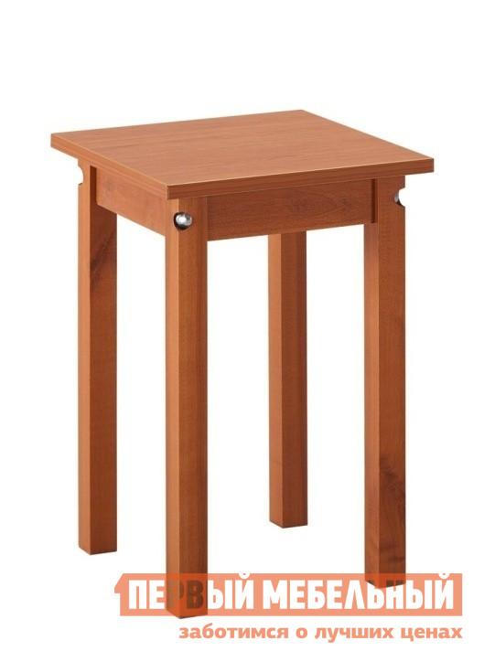 Табурет Боровичи Табурет прямая нога ВишняТабуреты<br>Габаритные размеры ВхШхГ 470x340x340 мм. Удобный и аккуратный табурет, который отлично дополнит ваш кухонный стол и позволит сэкономить место. У табуретов в однотонном исполнении ножки выполнены из массива дерева, сидение из ЛДСП. У табуретов в комбинированном цветовом исполнении ножки выполнены из МДФ, сидение из ЛДСП. Обратите внимание! Табуреты поставляются комплектом по 4 шт. Цена указана за 1 шт.<br><br>Цвет: Вишня<br>Цвет: Красное дерево<br>Высота мм: 470<br>Ширина мм: 340<br>Глубина мм: 340<br>Кол-во упаковок: 1<br>Форма поставки: В разобранном виде<br>Срок гарантии: 18 месяцев<br>Назначение: Для кухни<br>Материал: Деревянные, из ЛДСП, из МДФ<br>Форма: Квадратные