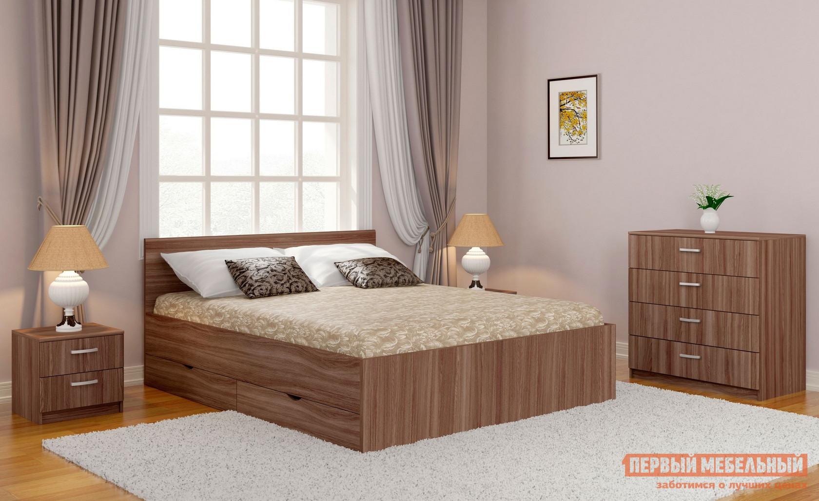 Двуспальная кровать Боровичи Дрим двуспальная кровать боровичи кровать гнутая спинка мягкая