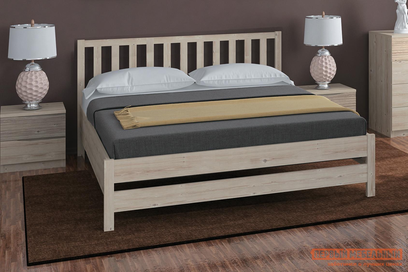 Двуспальная кровать Боровичи Массив двуспальная кровать боровичи кровать гнутая спинка мягкая