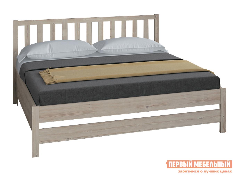 Двуспальная кровать  Массив Натуральный, 1400 Х 2000 мм Боровичи 64353