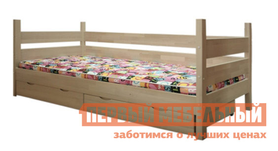Детская двухъярусная кровать с рабочей зоной Боровичи Кровать детская Двухъярусная Трансформер с ящиком и столиком