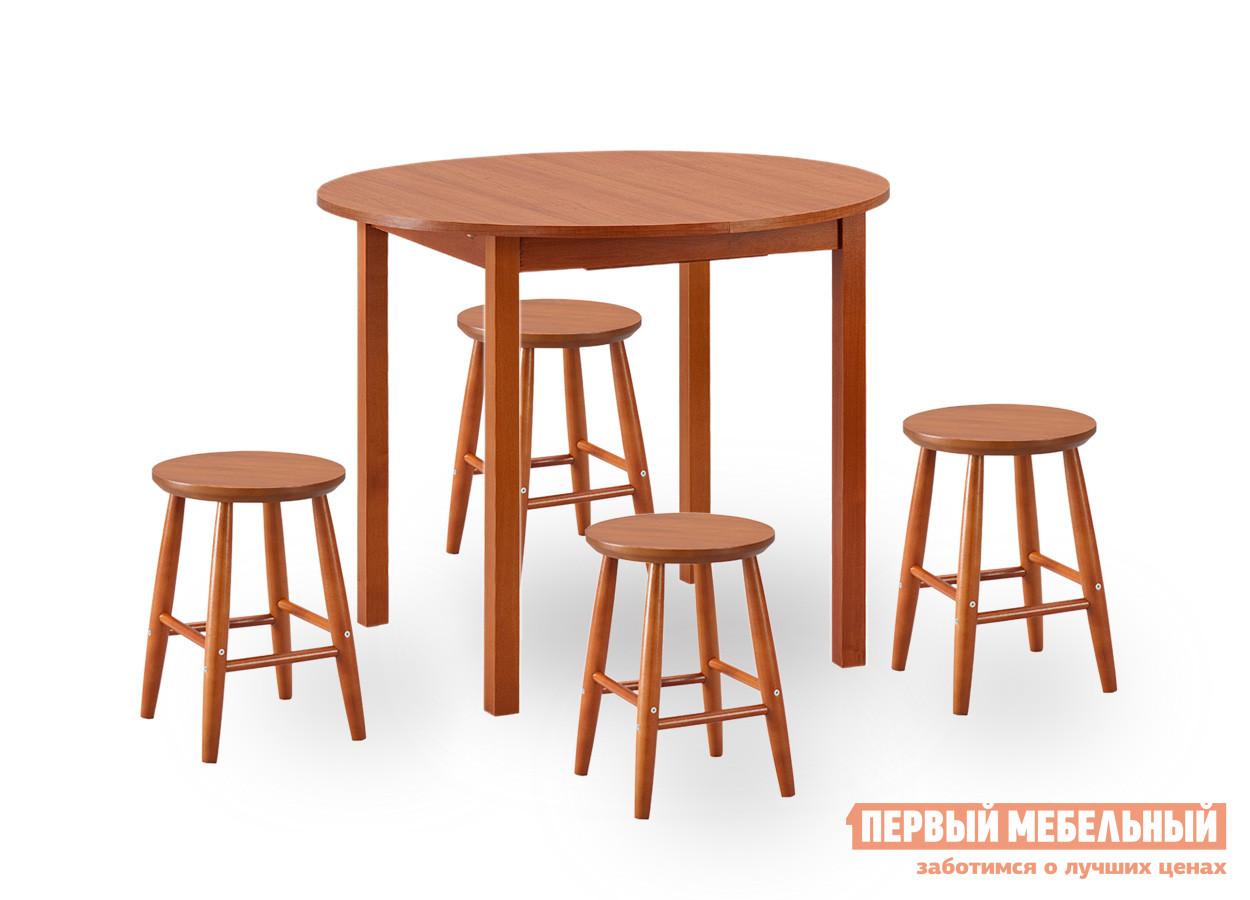 Обеденная группа с круглым столом для кухни Боровичи Норония + 4 Диметра обеденная группа с круглым столом для кухни боровичи норония 4 диметра
