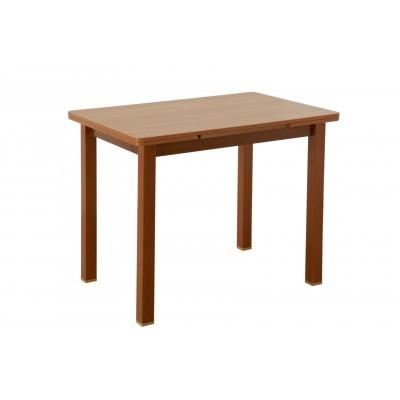 Кухонный стол Боровичи Стол обеденный раздвижной со скруглением 930/1460 Х 640 мм, Вишня