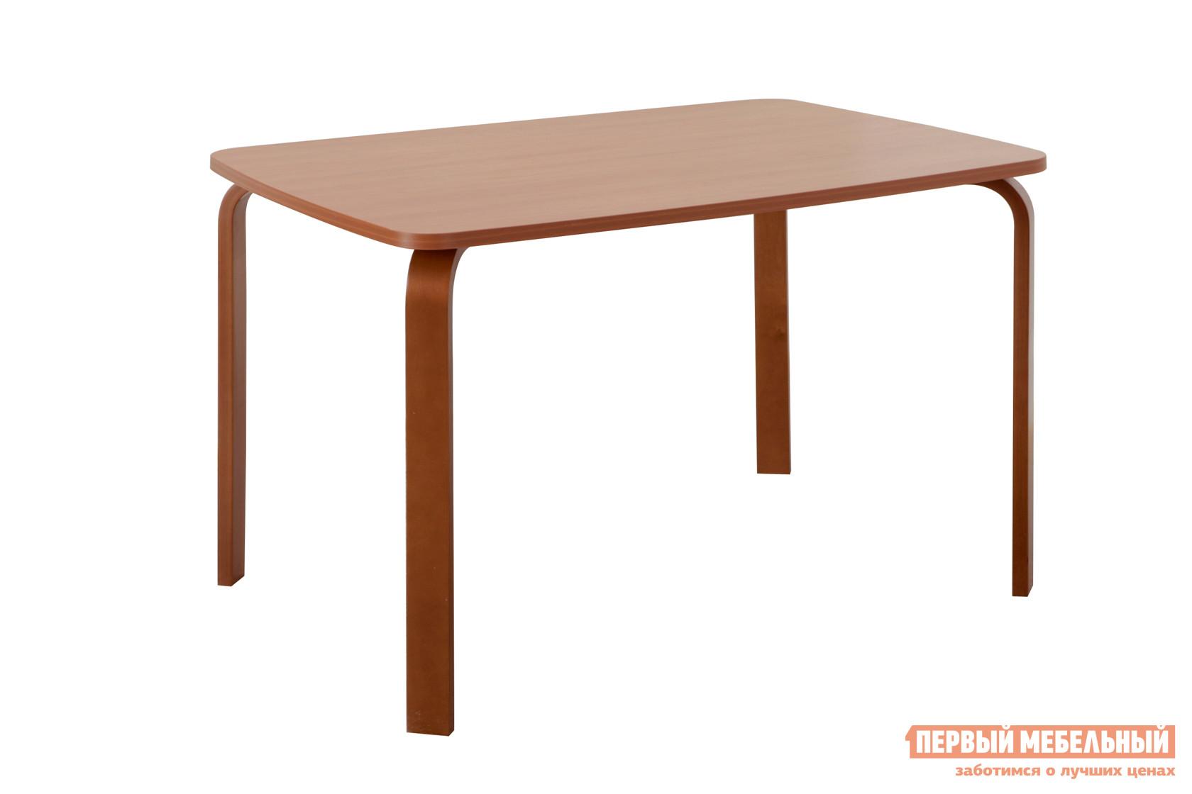 Кухонный стол Боровичи Стол гнутая нога Вишня