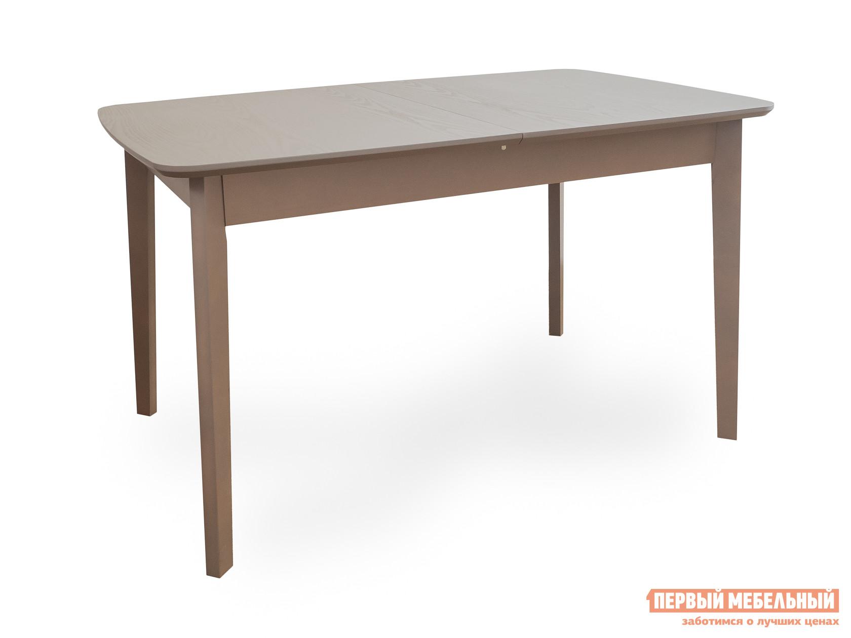 Фото Кухонный стол Боровичи Стол обеденный раздвижной с овальной крышкой Капучино, Натуральный шпон. Купить с доставкой