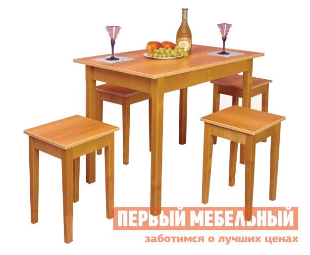 Кухонный стол Боровичи Стол обеденный ВишняКухонные столы<br>Габаритные размеры ВхШхГ 730x600x900 мм. Классический обеденный стол. Представленные на фотографии табуреты в комплект не входят и продаются отдельно. Столешница выполнена из ЛДСП, по краям обработана кромкой ПВХ 2мм. Основание стола изготавливается из массива березы. Изделие поставляется в разобранном виде.  Хорошо упаковано вгофротару вместе с необходимой фурнитурой для сборки и подробнойинструкцией.<br><br>Цвет: Вишня<br>Цвет: Красное дерево<br>Высота мм: 730<br>Ширина мм: 600<br>Глубина мм: 900<br>Кол-во упаковок: 1<br>Форма поставки: В разобранном виде<br>Срок гарантии: 18 месяцев<br>Материал: Деревянные, из ЛДСП, Из натурального дерева<br>Порода дерева: из березы<br>Форма: Прямоугольные<br>Размер: Маленькие