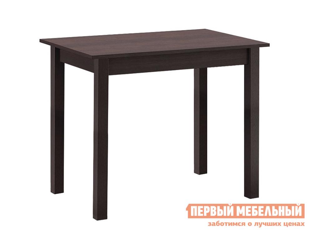 Кухонный стол  обеденный прямая ножка Венге Боровичи 76302
