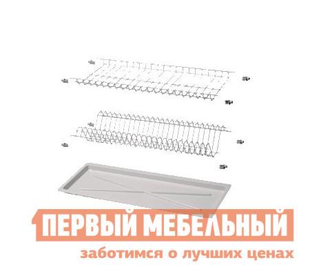 Сушилка для посуды Боровичи Посудосушитель с поддоном угловой 500 сушилка д посуды мечта хозяйки 3 48 5х30х9см с поддоном плас