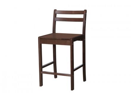 Барный стул из дерева
