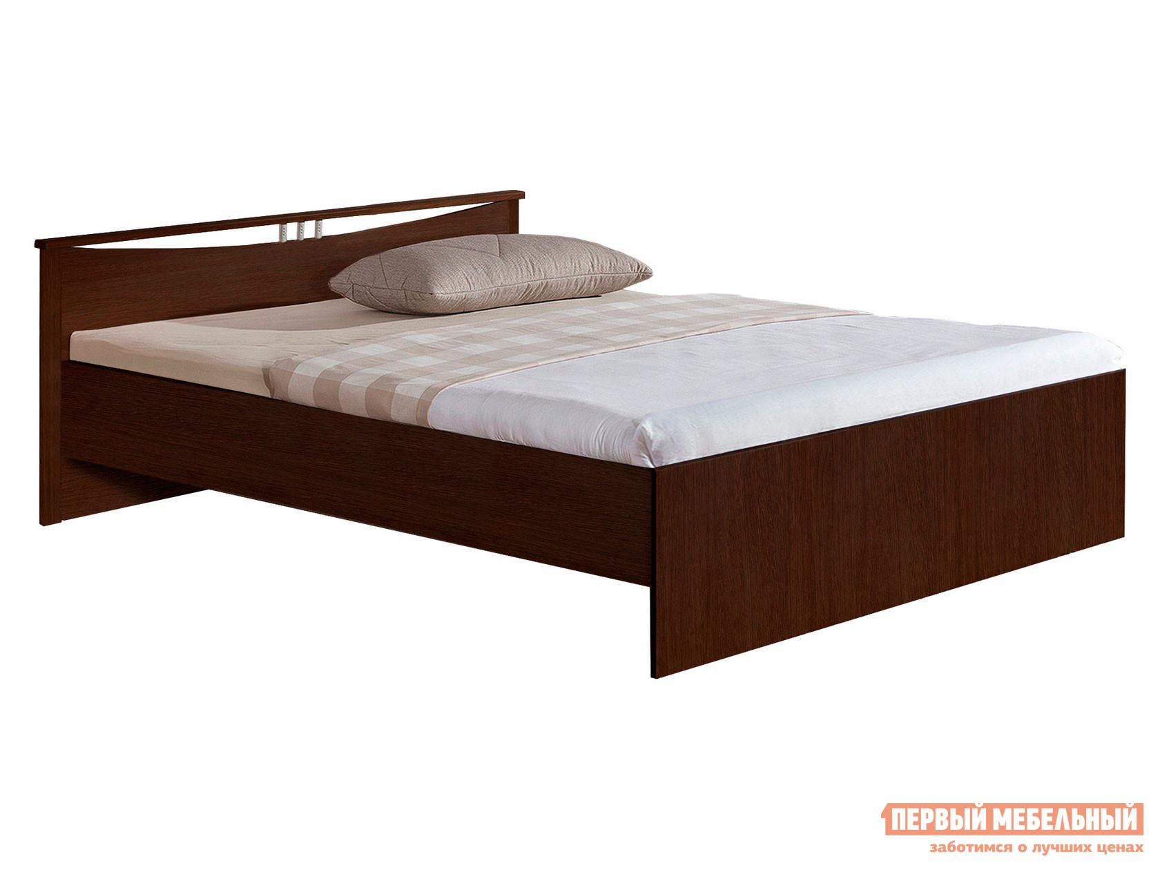 Односпальная кровать  Кровать Мелисса Венге, 900 Х 2000 мм