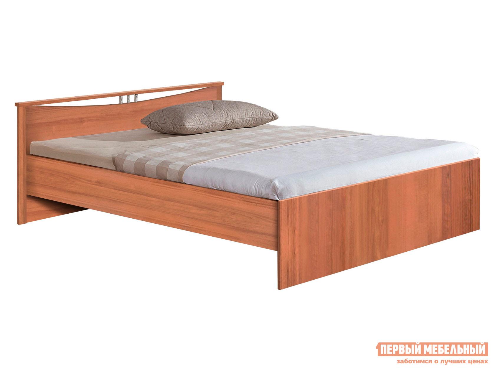 Односпальная кровать  Кровать Мелисса Орех, 900 Х 2000 мм
