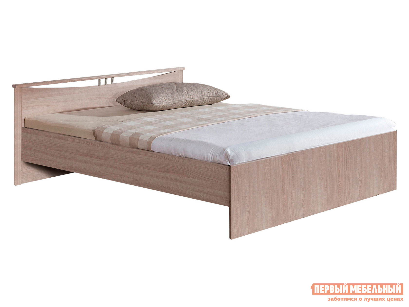 Односпальная кровать  Кровать Мелисса Шимо светлый, 1200 Х 2000 мм — Кровать Мелисса Шимо светлый, 1200 Х 2000 мм