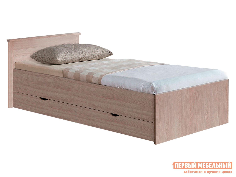 Односпальная кровать  Кровать Мелисса Шимо светлый, 800 Х 2000 мм — Кровать Мелисса Шимо светлый, 800 Х 2000 мм
