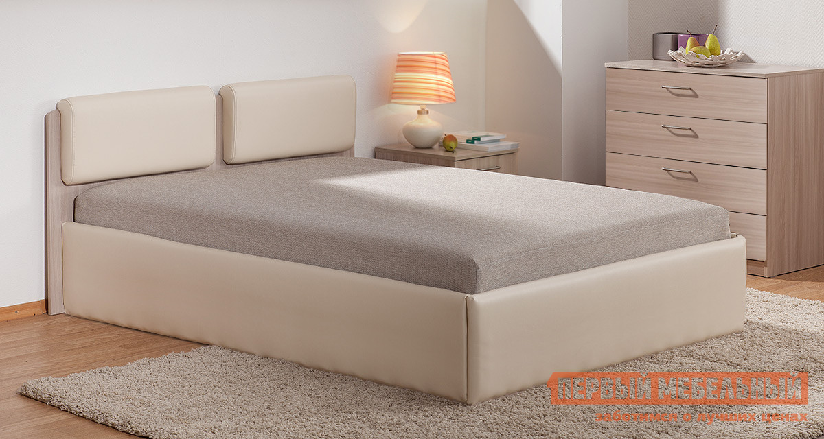 Двуспальная кровать-тахта с ящиками для белья Боровичи Тахта Мелисса Люкс