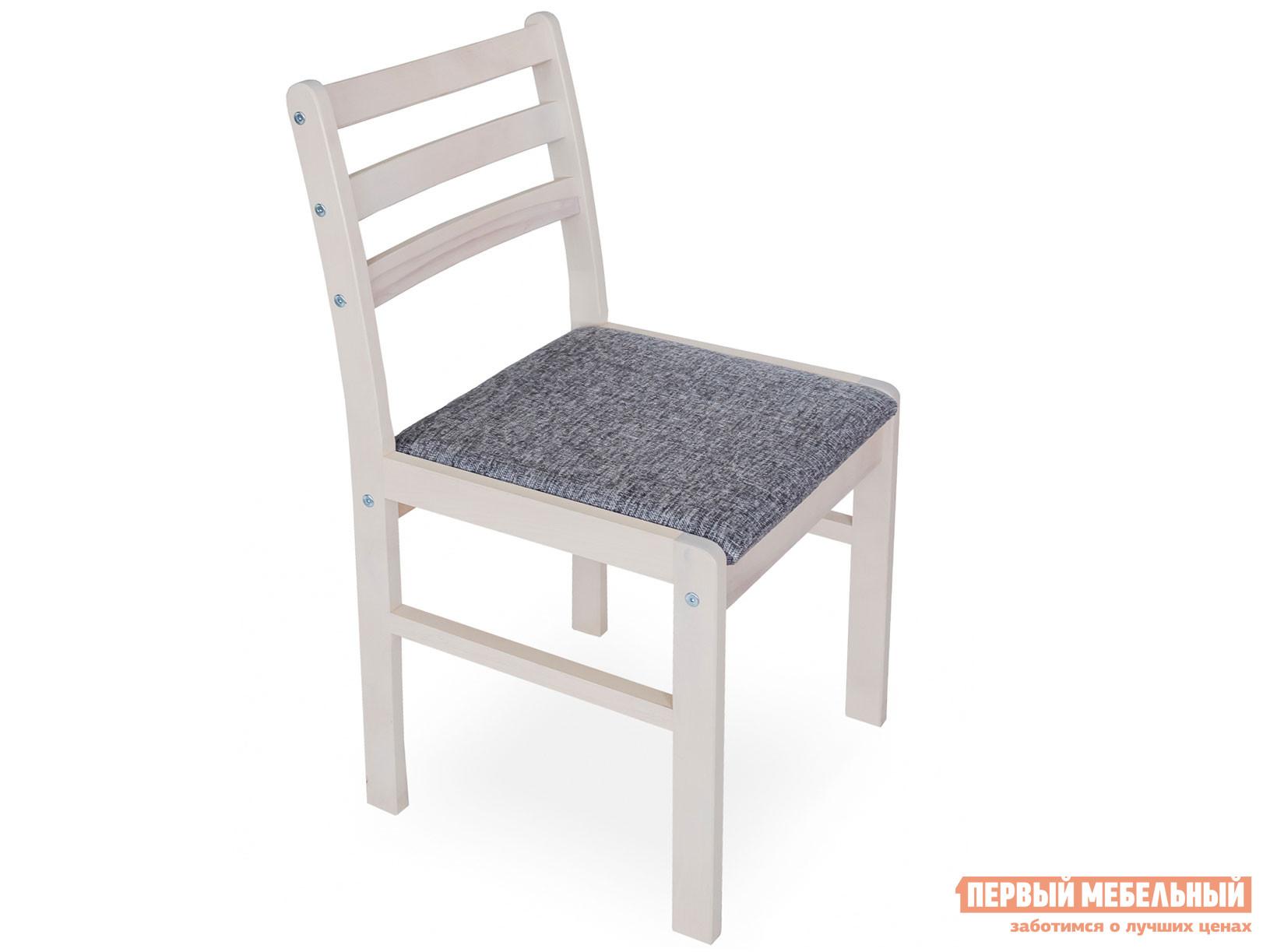 Стул Стул полумягкий Выбеленная береза / Модерн Серый (1 кат.), ткань фото