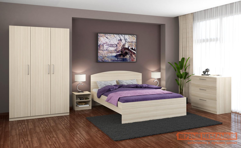 Спальный гарнитур Боровичи Метод 1600 + М5.19 + М2.05 + М1.021 спальный гарнитур тренто