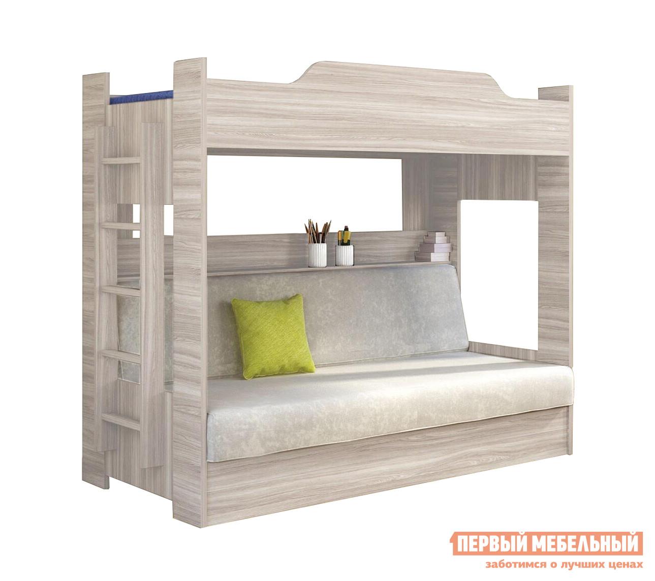 Кровать-чердак Боровичи Двухъярусная кровать клик-клак кровать двухъярусная мебельсон алиса кровать двухъярусная