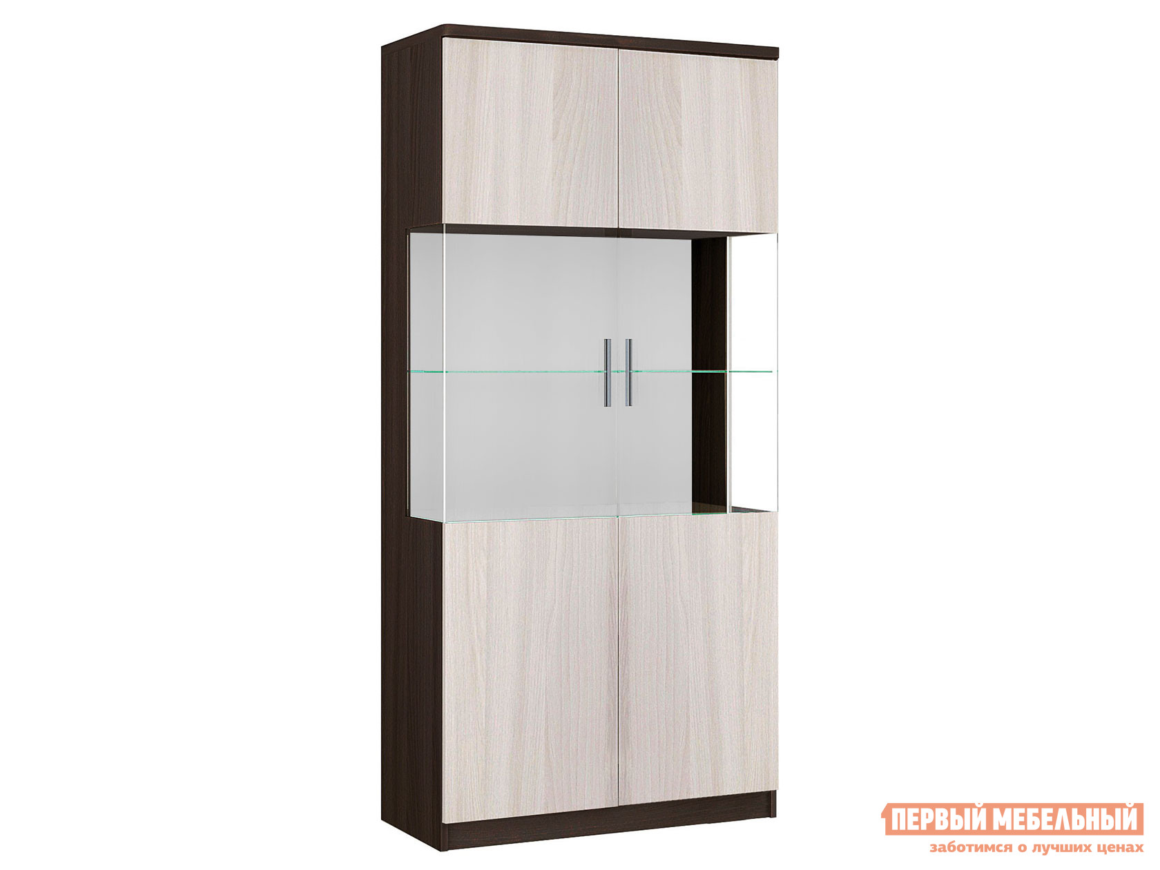 Шкаф-витрина Боровичи Модерн 17.07 цена