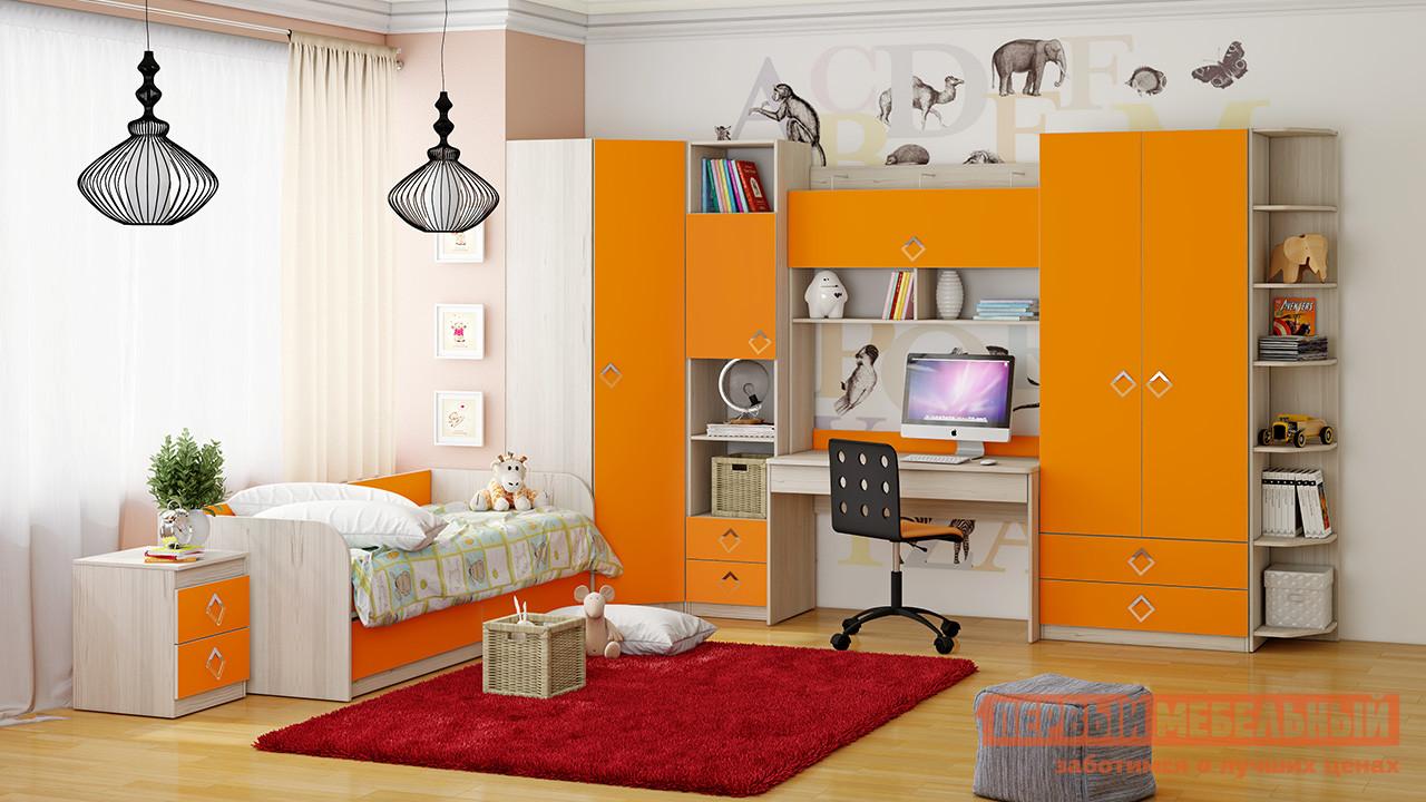 Комплект детской мебели ТриЯ Аватар Манго К2 комплект детской мебели трия аватар лайм к1