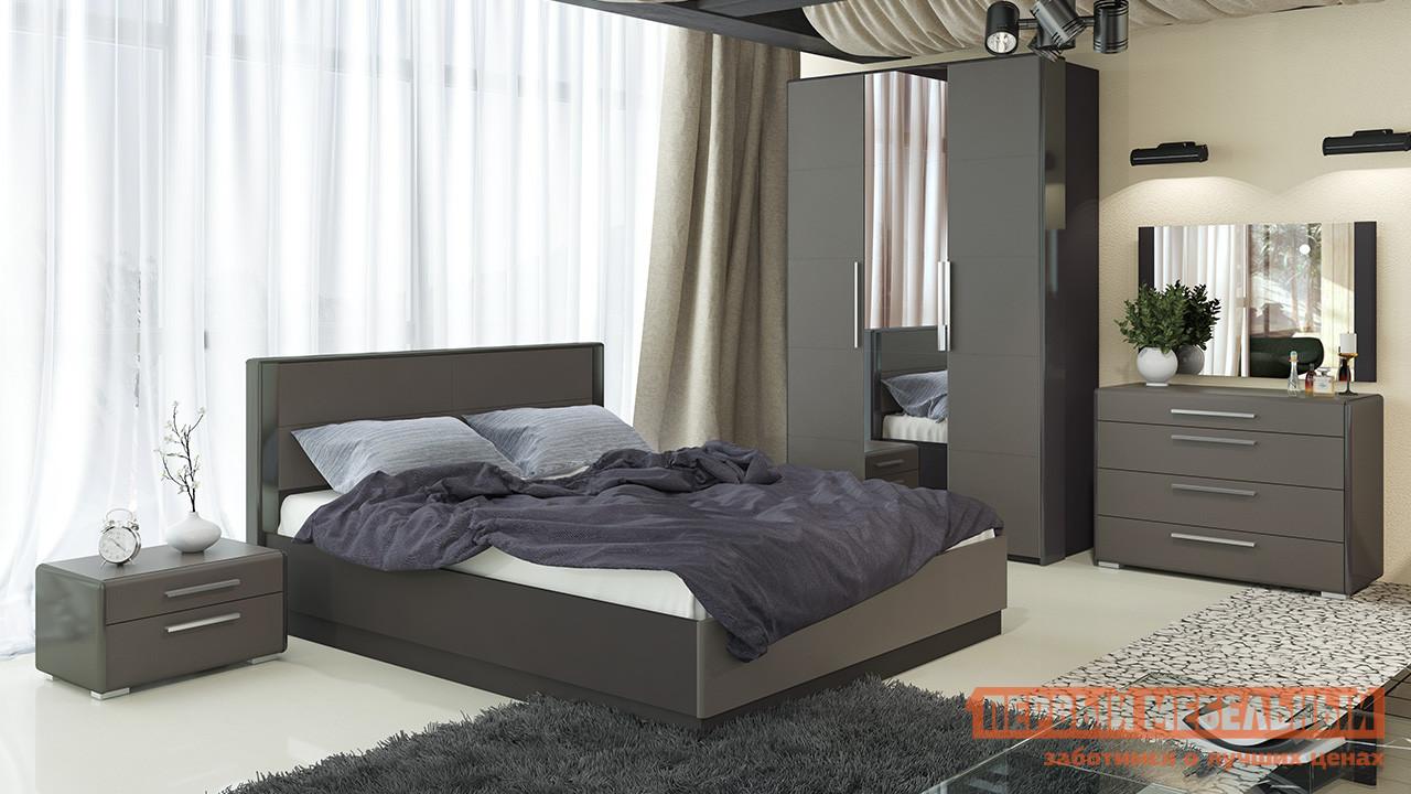 Фото - Спальный гарнитур ТриЯ Наоми Трия К4 набор модульный мебель трия наоми