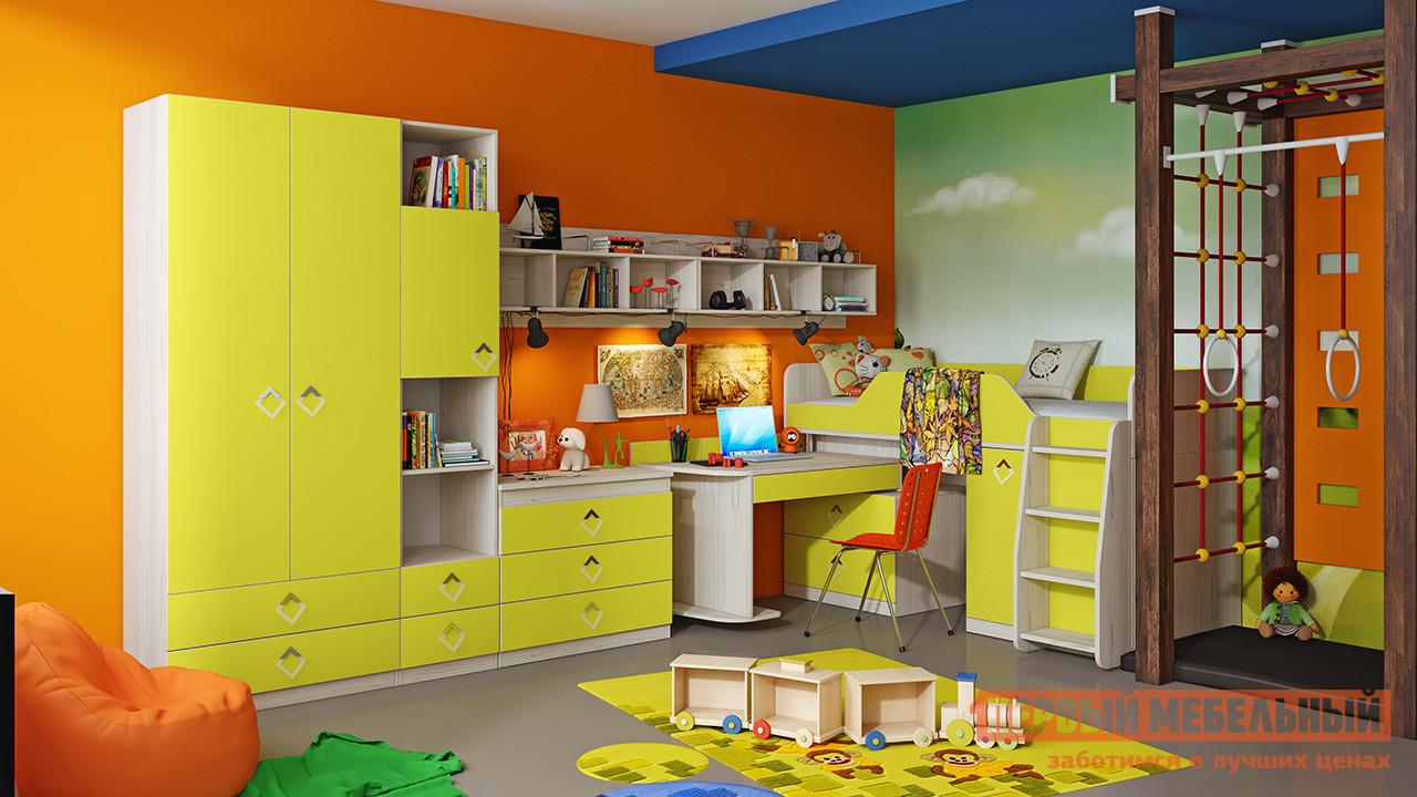 Комплект детской мебели ТриЯ Аватар Лайм К2 комплект детской мебели трия навигатор к1