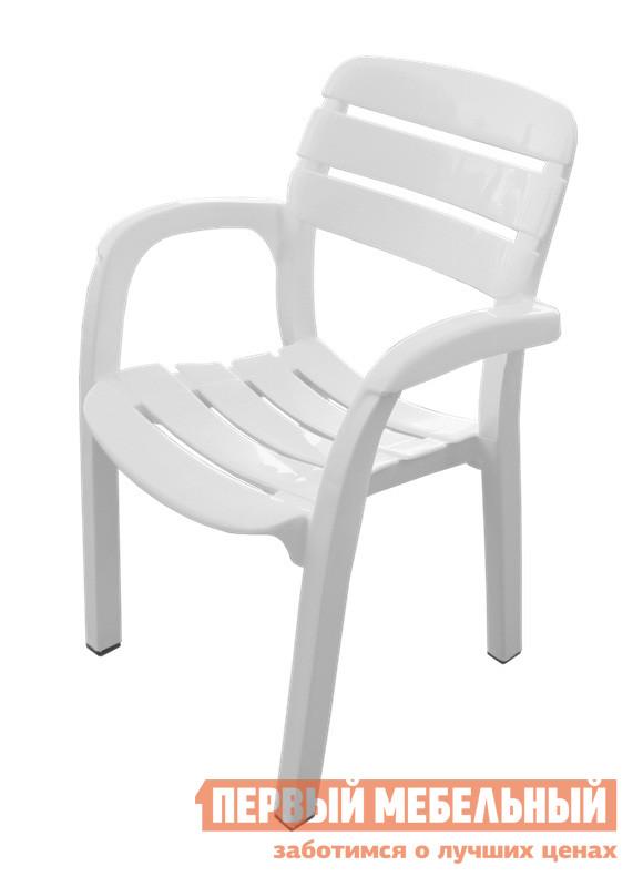 Пластиковый стул Стандарт Пластик Кресло №3 Далгория (600х440х830мм) БелыйПластиковые стулья<br>Габаритные размеры ВхШхГ 830x600x440 мм. Удобное для использования на выездных мероприятиях, идеальное кресло для дачи, загородных участков, открытых кафе.  С помощью такой мебели можно быстро и без хлопот собрать компанию на природу, обеспечив комфорт каждому гостю.  Лаконичный стиль исполнения позволит использовать это кресло в любой обстановке. Максимальная нагрузка — до 130 кг. Высота от пола до сиденья — 440 мм. Изделие выполнено из экологически чистого сырья.  Не боится воды.  Легкое по весу. Можно хранить стулья стопками до 5 штук.<br><br>Цвет: Белый<br>Высота мм: 830<br>Ширина мм: 600<br>Глубина мм: 440<br>Кол-во упаковок: 1<br>Форма поставки: В собранном виде<br>Срок гарантии: 1 год<br>С подлокотниками: Да