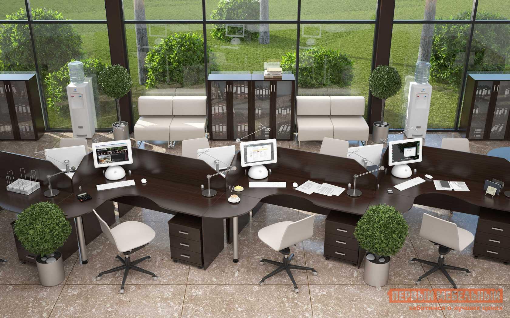 Комплект офисной мебели Эдем Лайт К3 комплект офисной мебели pointex свифт к3 темный