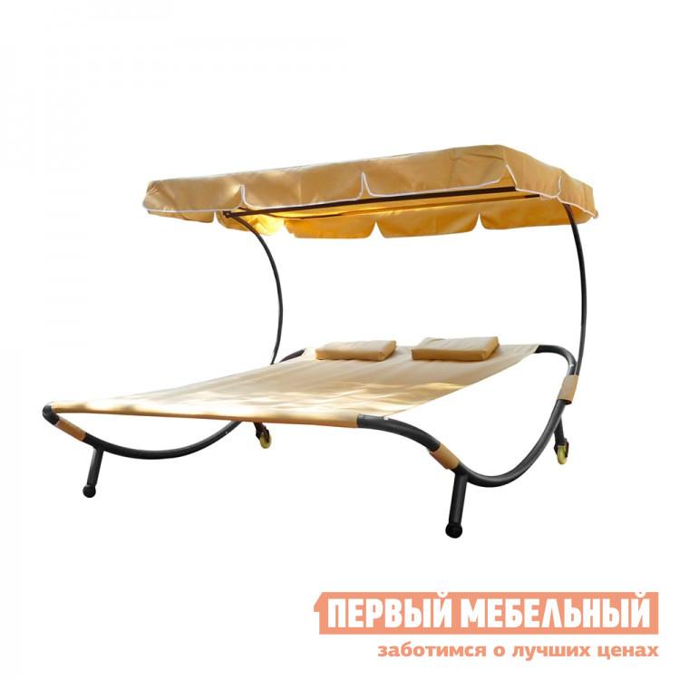 Шезлонг Kvimol KM-080 Бежевый