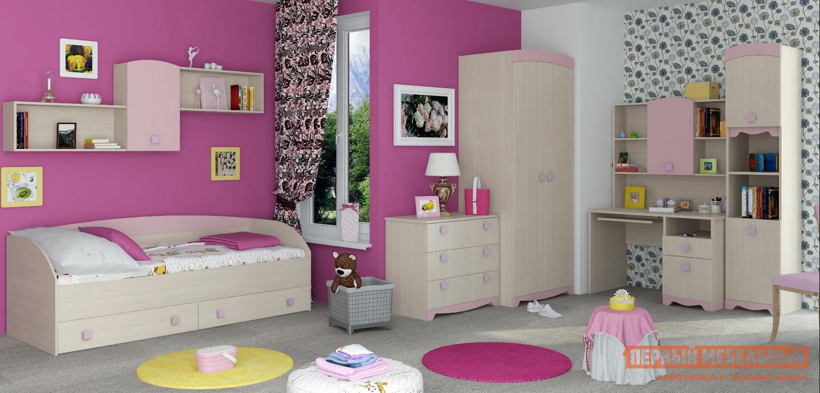 Комплект детской мебели ТД Арника Пинк К2 комплект детской мебели тд арника робинзон к1