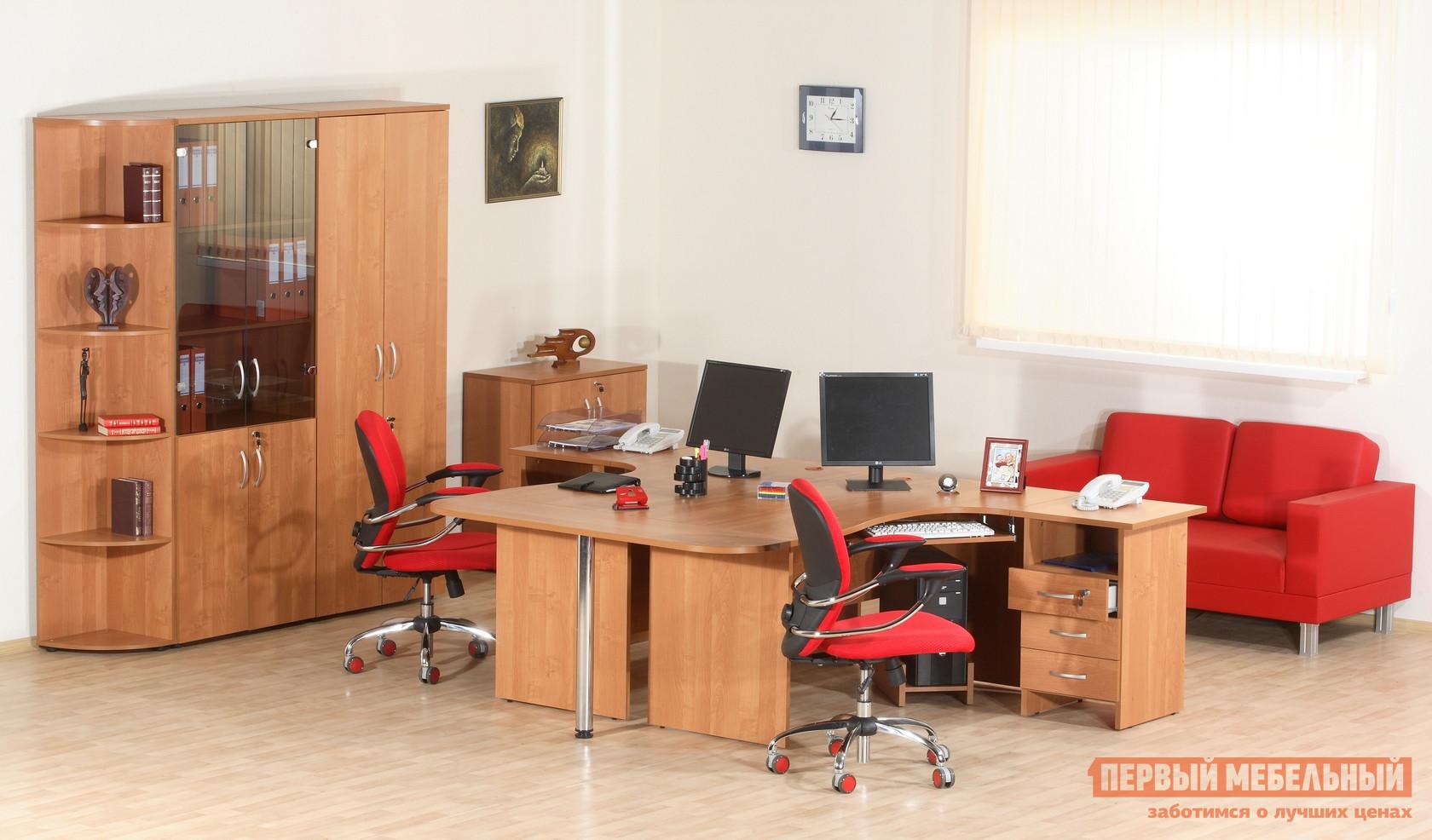 Комплект офисной мебели Витра Альфа К3 комплект офисной мебели pointex свифт к3 темный
