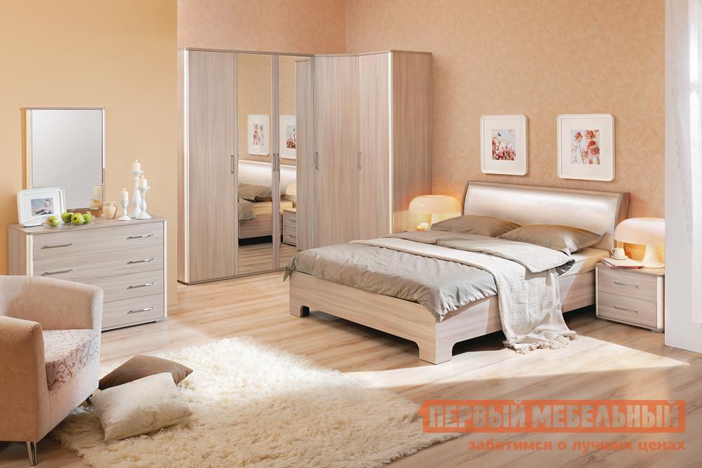 Комплект мебели для спальни Кураж Сорренто К1 комплект офисной мебели riva рива ресепшн к1