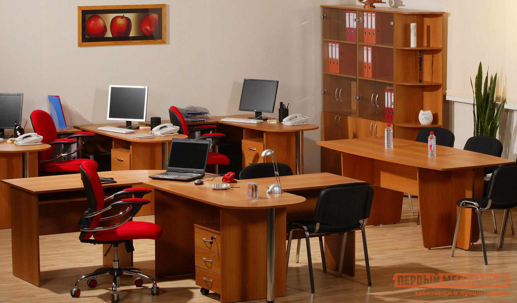 Комплект офисной мебели Витра Рубин К3 комплект офисной мебели pointex свифт к3 темный