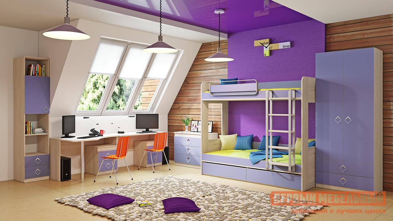 Комплект детской мебели ТриЯ Аватар Лаванда К2 комплект детской мебели трия аватар лайм к1