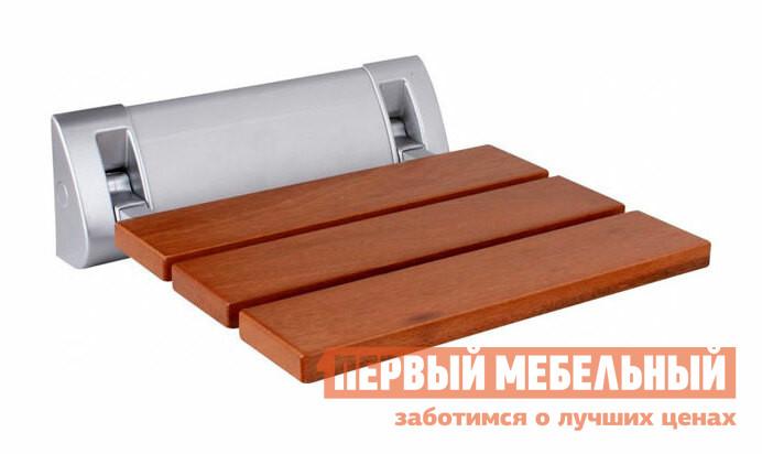 Стул Smart bird D-4 Вишня Smart bird Габаритные размеры ВхШхГ x315x325 мм. Универсальный откидной стул — находка в мебельной индустрии.  Такая модель станет полезным элементом меблировки в любых помещении и подойдет под любой интерьер.  Практичное решение для прихожей, лоджии, ванной комнаты, на кухне, на даче. <br>Стул экономит пространство в помещении, имеет надежную конструкцию и стильный вид. </br>В зависимости от качества стены, такой стул выдерживает нагрузку от 150 до 200 кг. </br>Сидение выполняется из натурального дерева и имеет водоотталкивающие свойства. <br>Крепление изготавливается из анодированного алюминия, обработанного защитой от царапин и коррозии.  Сидение выполняется из Манилкара — разновидности красного дерева. <br>