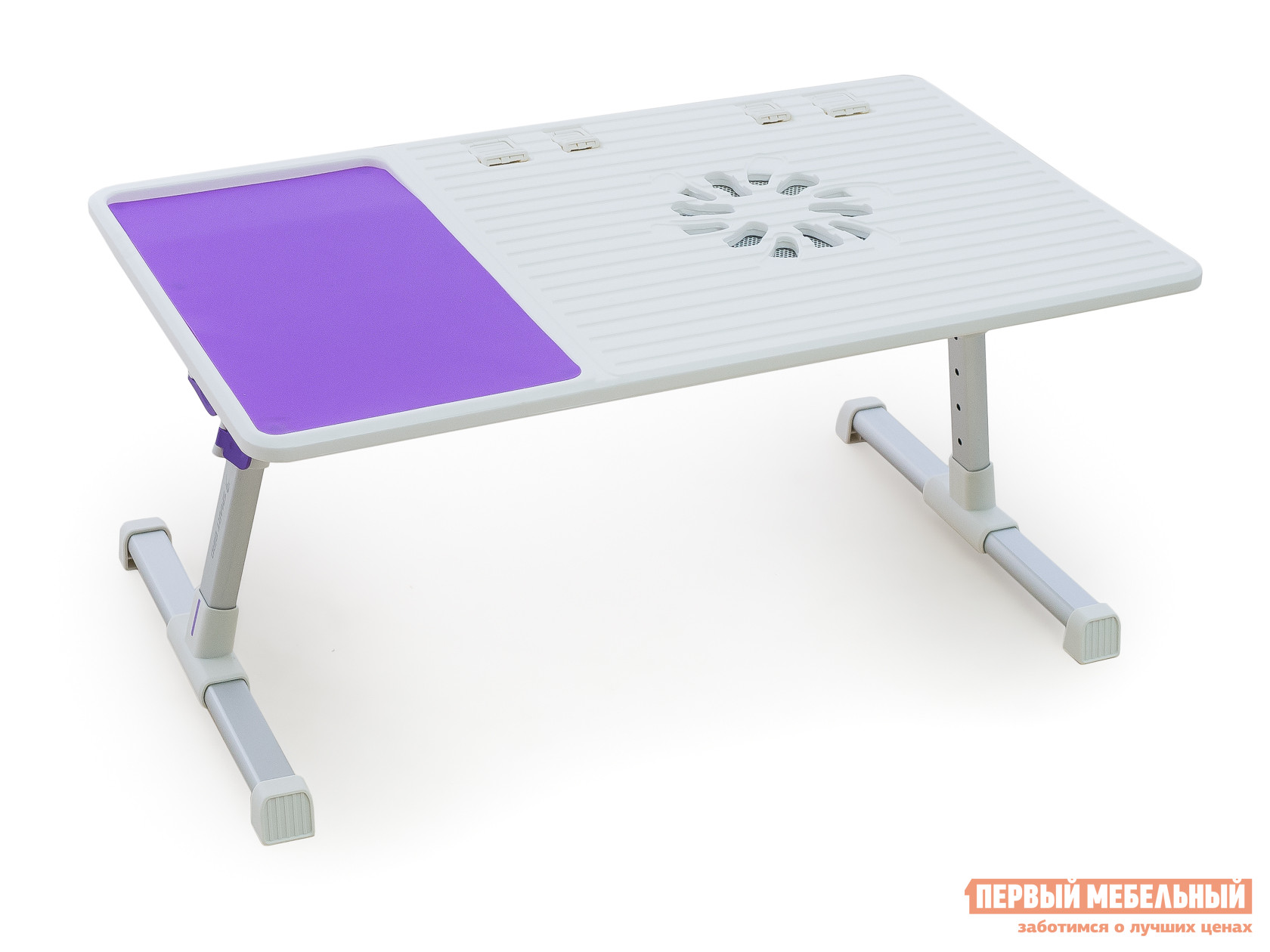 Подставка для ноутбука Smart bird PT-36 Белый / Сиреневый от Купистол